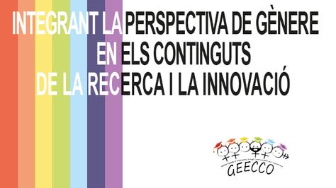 Integrant la perspectiva de gènere en els continguts de la recerca i la innovació
